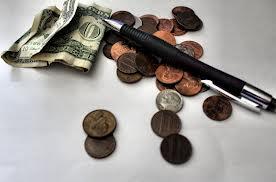 moneyWriting